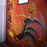 Fantasy Dragon Mural