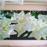 Lisianthus Mural Painting