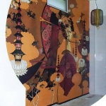 Sky Pagoda Mural Painting