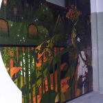 Starry Night Mural Painting