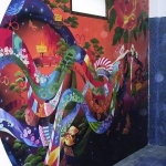 Fantasy Garden Mural