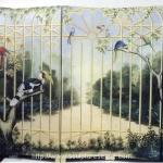 Gated Garden Mural
