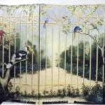 gated-garden-mural