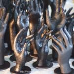 Paper Mache Hand Sculpture Commisions