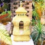 Sandstone sculptures - Lantern 2 roof
