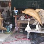 artist sculpture Dolphin Sculpture