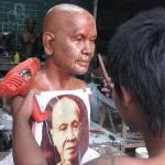 clay sculpture - Kruba Sri Wi Chai Famous Monk